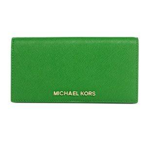 NWT Jet Set Michael Kors wallet